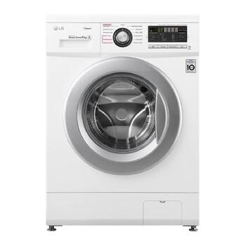 Узкая стиральная машина c функцией пара Steam LG -F12M7NDS1, 6 кг