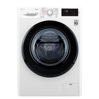 Узкая стиральная машина c функцией пара Steam LG- F2M5HS6W, 7кг