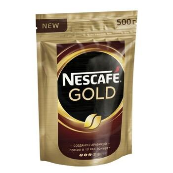 Кофе Nescafe Gold, пакет, 500 гр