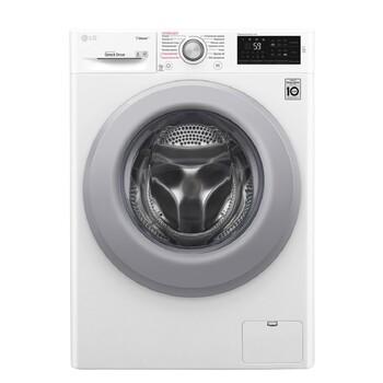 Стандартная стиральная машина c функцией пара Steam LG- F4J3TS2W, 8 кг