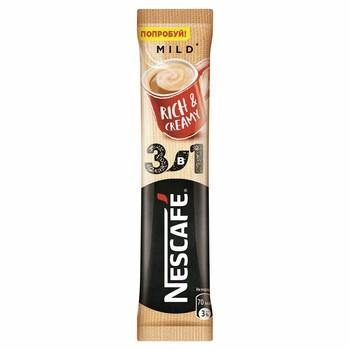 Кофе Nescafe Мягкий 3в1 стик,16 гр