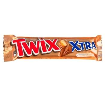 Twix Xtra şokoladly batonçik, 82 gr (2x41 gr)