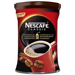 Кофе  Nescafe classic c молотой арабикой, 230 г