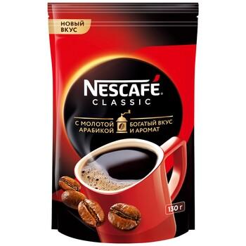 Кофе  Nescafe classic c молотой арабикой, 130 г