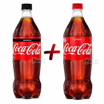 Газированный напиток Coca-Cola, 1+1