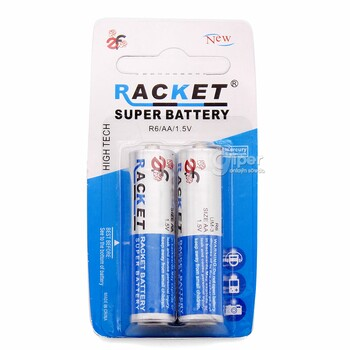Батарея Racket R6, АА, 1.5V, 2 шт