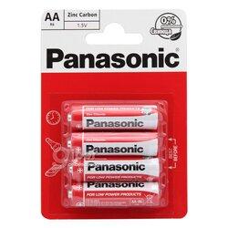 Батарея Panasonic R6P, АА, 1.5V, 4 шт