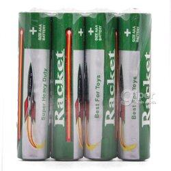 Батарея Racket R03 UM-4, AАА, 1.5V, 4 шт