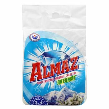 Almaz автомат синтетическое моющее средство, 2,4 кг