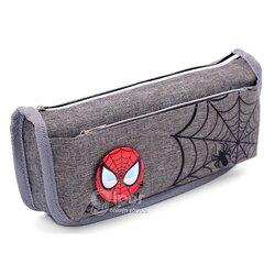 """Пенал """"Spiderman"""", серый"""