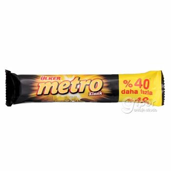 Ülker Metro klassiki şokolad batonçik, 50,4 gr
