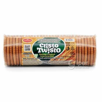 "Крекер сладкий ""Cristo Twisto"" классический, 140 г"