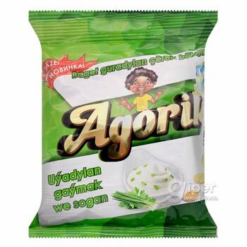 """Сухарики """"Agorik"""" со вкусом сметаны и лука, 40 г"""