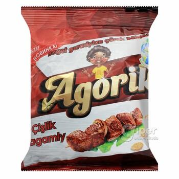 """Сухарики """"Agorik"""" со вкусом шашлыка, 40 г"""