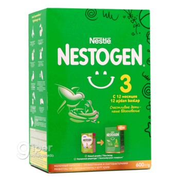 Nestogen 3 с 12 месяцев, 600 г