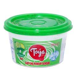 """Гель для мытья посуды """"Toýa"""" с ароматом лимона, 360 г"""