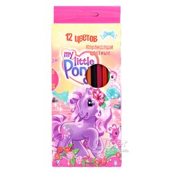 "Карандаши цветные  ""My Little Pony"", 12 цветов"