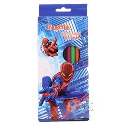"Карандаши цветные  ""Spider-Man"", 12 шт"
