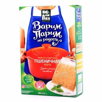 Воложка Варим Парим крупа пшеничная, 400 г