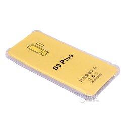 Силиконовый чехол для Samsung Galaxy S9+, прозрачный