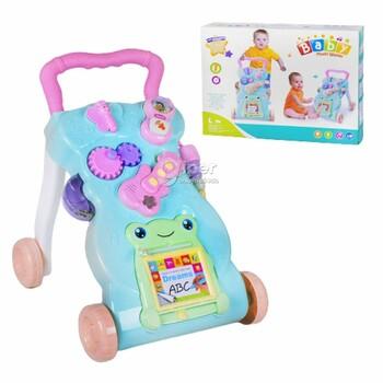 Многофункциональные каталка-ходунки Baby Music Walker (999A)