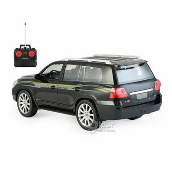 Машинка на радиоуправлении Tian Du Black Land Rover 1:12 (5512-2)