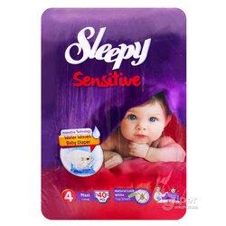 Подгузники Sleepy Sensitive Maxi 4, 7-14 кг, 40 шт