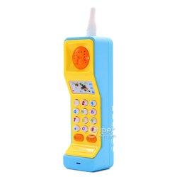Игрушечный мобильный телефон funny Phone со звуковым эффектом, синий ()162-9)