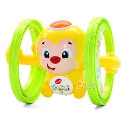 Игрушка обезьянка Happy Monkey, жёлтый