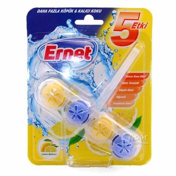 """Освежитель для унитаза """"Ernet"""" Лимон, 50 гр"""