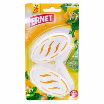 """Освежитель для унитаза """"Ernet"""" лимон, 2x40 гр"""