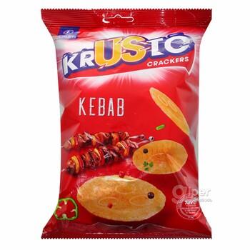 """Crafers крекеры """"Krusto"""" со вкусом кебаб, 65 г"""