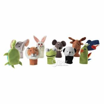Набор пальчиковых кукол TITTA DJUR Ikea из 10 предметов