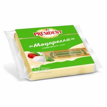 Плавленный Сыр President Моцарелла, 40%, 150 г