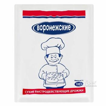 """Сухие дрожжи быстродействующие """"Воронежские"""", 100 гр"""