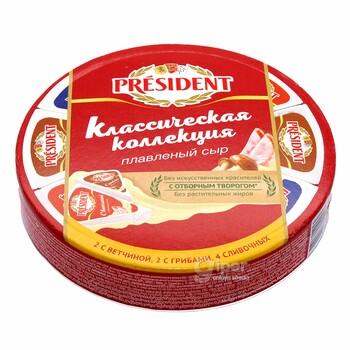 """Плавленный сыр President """"Классическая коллекция"""" 45%, 140 г"""
