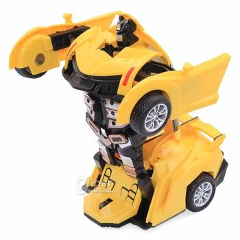 Робот-трансформер TRANSFORM HERALD жёлтый 333-2