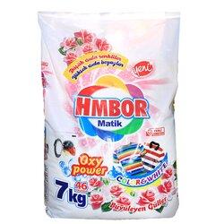 """HMBor Стиральный порошок  автомат """"Oxy Power"""" восходящая роза, 7 кг"""