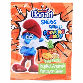 Bonart взрывающийся леденцы с тропическим вкусом, 4 г