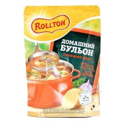 """Домашний Бульон """"Роллтон"""" говяжий вкус, 90 гр"""