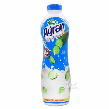"""Айран """"Elin"""" со вкусом свежого огурца, 2.5%, 1 л"""
