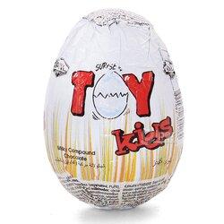 """Яйцо молочный составной шоколад """"Toy kids"""", 25 г"""