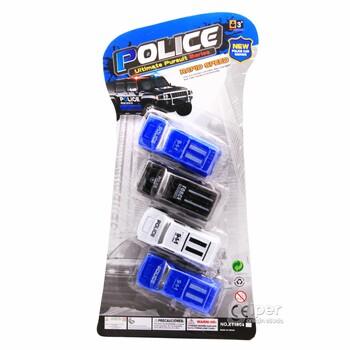 Набор игрушечных машинок POLICE (XT1804)