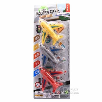 Набор игрушечных самолетиков MODERN CITY SERIES