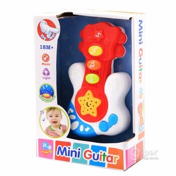 Игрушечная Мини-гитара с 18 месяцев