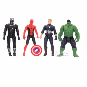 Набор из 4 фигурок супергероев к/ф «Мстители»