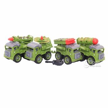 Игрушечные боевые машины, 4 шт