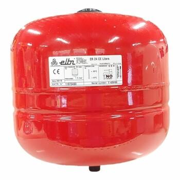 Мембранный расширительный бак ELBI ER-24 CE, для отопления