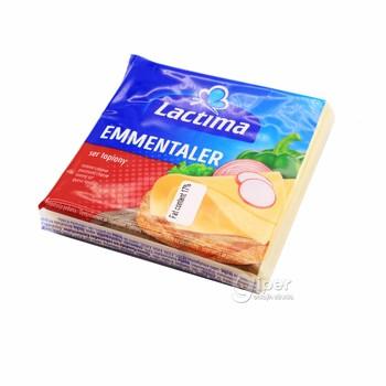 Плавленный Сыр Lactima Emmentaler, 130 г