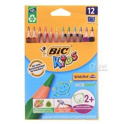 Карандаши цветные  BiC kids, 12 цветов
